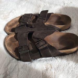 8 Women's Birkenstock Sandals Leather Arizona 38